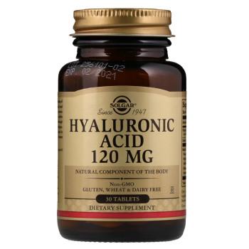 Solgar Hyaluronic Acid 120 mg 30 капсул