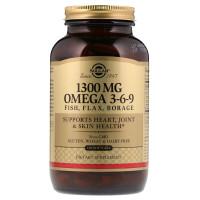 Solgar Omega 3-6-9 1300 mg 120 Softgels