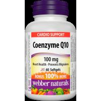 Webber Naturals Coenzyme Q10 100 mg 60 softgels