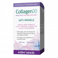Webber Naturals Collagen30 Verisol® 2500mg 180 таблеток