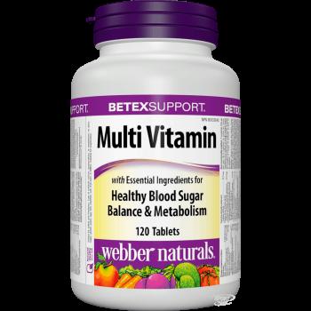 Webber Naturals Multi Vitamin One Per Day 100 таблеток