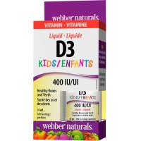Webber Naturals Vitamin D3 400 IU Kids 35 мл