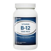 GNC Vitamin B-12 1500 90 капсул