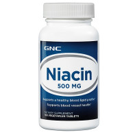 GNC Niacin 500 100 таблеток