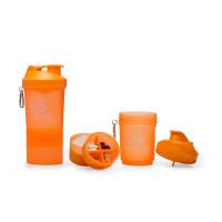 Шейкер SmartShake Neon 400 мл (оранжевый)