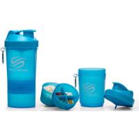 Шейкер SmartShake Neon 400 мл (голубой)
