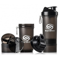 Шейкер SmartShake Neon 400 мл (черный)