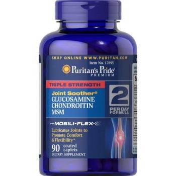 Puritan's Pride Triple Strength Glucosamine, Chondroitin Msm 60 каплет