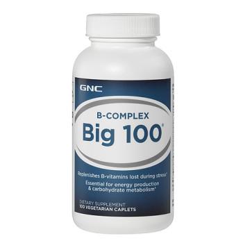 GNC B-Complex Big 100 100 капсул