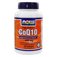 NOW CoQ10 400 mg 30 капсул