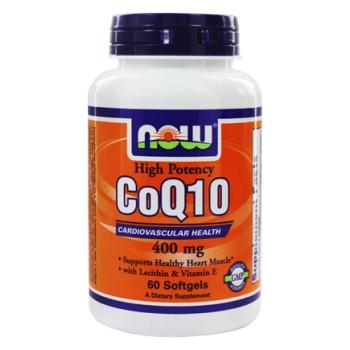 NOW CoQ10 400 mg 30 капсул