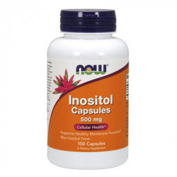 Now Inositol 500 mg 100 капсул (Инозитол)