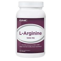 GNC Arginine 1000 90 капсул