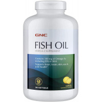 GNC Fish Oil 360 softgels