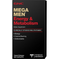 GNC Mega Men Energy & Metabolism 90 таблеток
