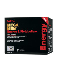 GNC Mega Men® Energy & Metabolism Vitapak® Program 30 пакетов