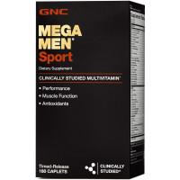 GNC Mega Men Sport 180 таблеток