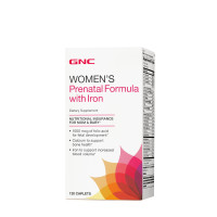 GNC Prenatal Formula with Iron 120 капсул