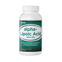 GNC Alpha Lipoic Acid 600 mg 60 капсул