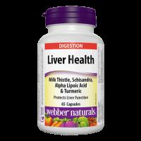 Webber Naturals Liver Health 65 капсул (Здоровье печени)