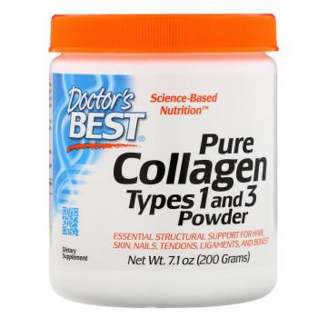 Doctor's Best Best Collagen Types 1 &3 200 грамм