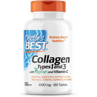 Doctor's Best Collagen Types 1 & 3 1000 mg 180 таблеток