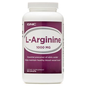 GNC L-Arginine 1000 180 капсул