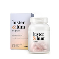 GNC luster & lum® Brighten 60 капсул (улучшает тон кожи)