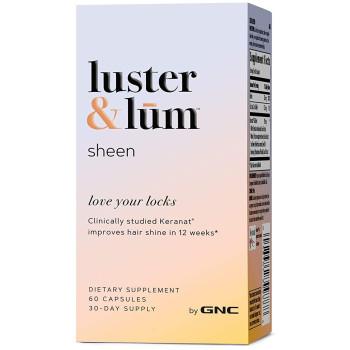 GNC luster & lum® Sheen 60 капсул (улучшает блеск волос)