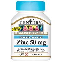 21st Century Zinc 50 мг 110 таблеток