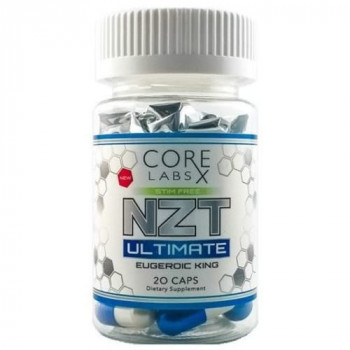 Core Labs NZT Ultimate 20 капсул (Flmodafinil*)