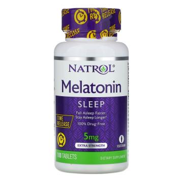 Natrol Melatonin 5 mg 100 таблеток