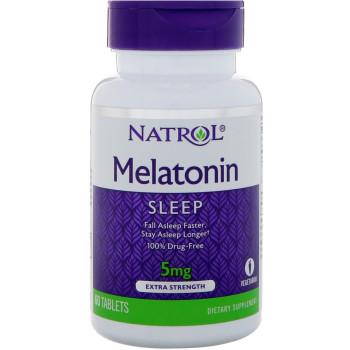 Natrol Melatonin 5 mg 60 таблеток