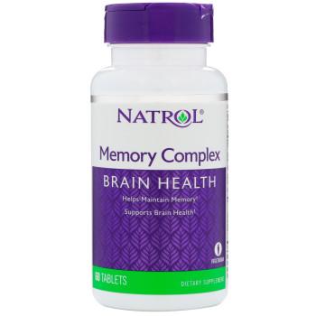 Natrol Memory Complex 60 таблеток (Комплекс для памяти и мозга)
