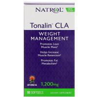 Natrol Tonalin CLA Safflower Oil 1200 mg 90 капсул (липотропный жиросжигатель)