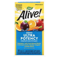 Natures Way Alive! Once Daily Men's Multi-Vitamin 60 таблеток