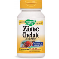 Nature's Way Zinc Chelate 30 mg 100 капсул