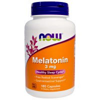 Now Melatonin 3 mg 180 капсул