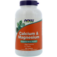 Now Foods Calcium & Magnesium 250 таблеток