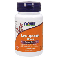 Now Lycopene 20mg 50 капсул