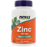 Now Zinc Gluconate 50 mg 250 таблеток