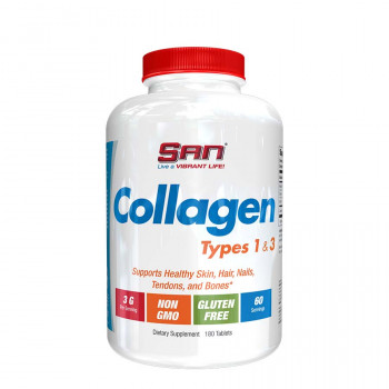 SAN Collagen Types 1 and 3 180 таблеток (Сан коллаген в таблетках)