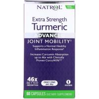 Natrol Turmeric Extra Strength 60 капсул (Куркумин)