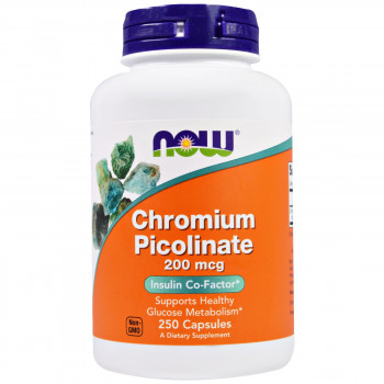 Now Foods Chromium Picolinate 200mcg 100 капсул