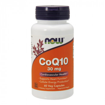 NOW CoQ10 30 mg 60 капсул