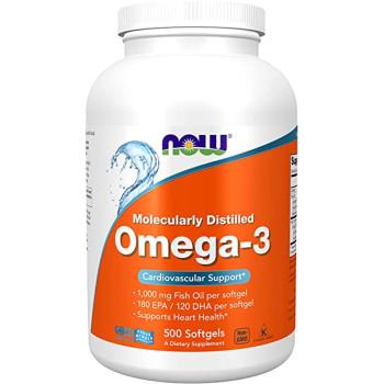 NOW Omega 3 500 Softgels