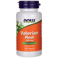 Now Valeriana Root 500 mg 100 капсул