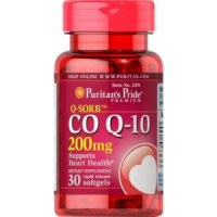 Puritan`s Pride Co Q-10 200 mg 30 капсул