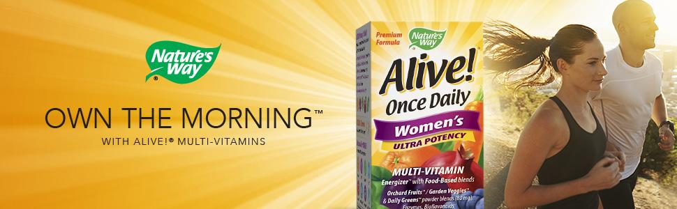 Nature's Way Alive! Once Daily Women