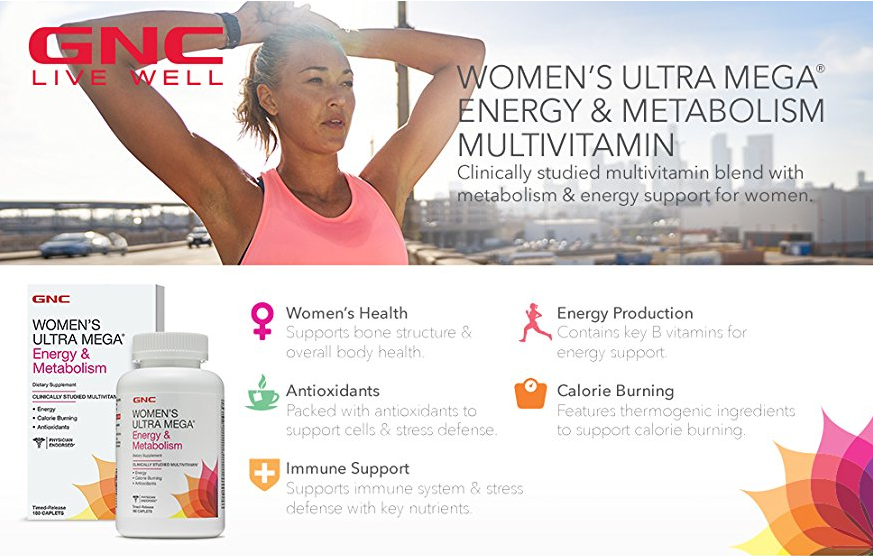 GNC Womens Ultra Mega Energy Metabolism
